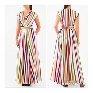 Eshakti Colorful Striped Dress